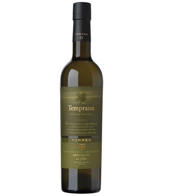 Temprano arbequina - botella vidrio 500 ml.