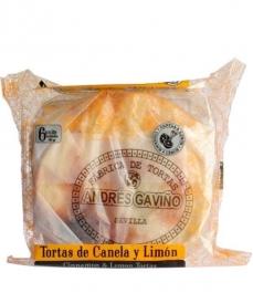 Tortas de Aceite Andrés Gaviño - Tortas de Canela y Limón