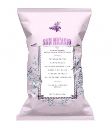 San Nicasio Potato Chips with Himalayan pink salt 150g - bag of 150g