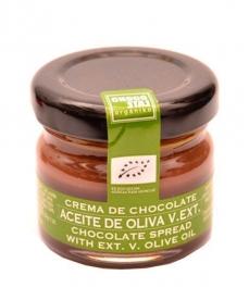 ChocoLate Orgániko con Aceite de Oliva Virgen Extra Crema - 30g