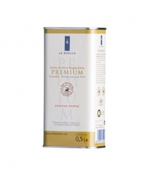 La Boella Arbequina - Tin 500 ml.