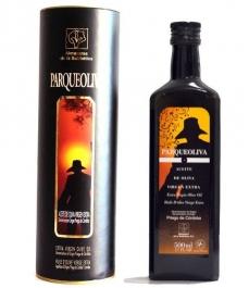 Parqueoliva - botella vidrio 50 cl. Canister