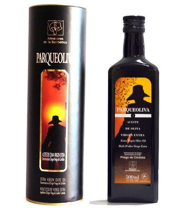 Parqueoliva - botella vidrio 500 ml. Canister