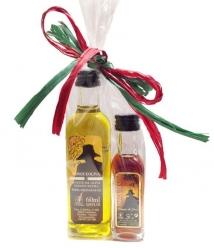 Parqueoliva - bolsita aceite + vinagre