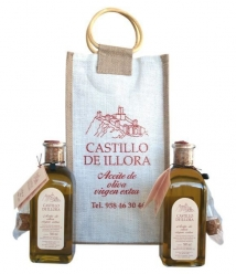 Castillo de Illora - Tradicional - bolsa yute + 2 frascas 50 cl.