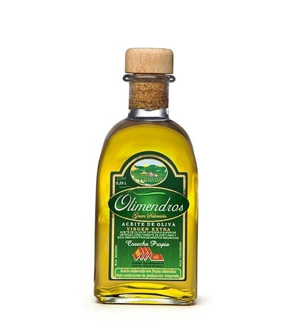 Olimendros Picual - frasca vidrio 250 ml. (En Rama)