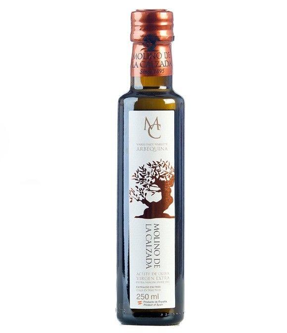 Molino de la Calzada Arbequina - Botella vidrio 250 ml.