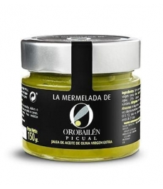 Oro Bailén Reserva Familiar Mermelada de aceite de oliva Picual - Tarro 150 gr.