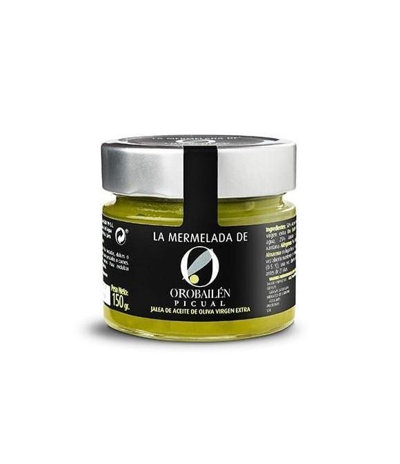 Oro Bailén Reserva Familia Mermelada de aceite de oliva Picual - 150 gr. tarro de vidrio
