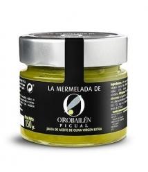 Oro Bailén Mermelada de aceite de oliva Picual - Tarro 150 gr.