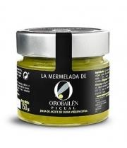 Oro Bailén Reserva Familiar Arbequina Mermelada de aceite de oliva Picual - 150 gr. tarro de vidrio