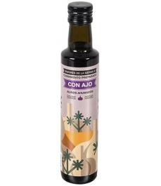 Sabores de la Sierra - AHUMADO con Ajo botella cristal 250 ml.