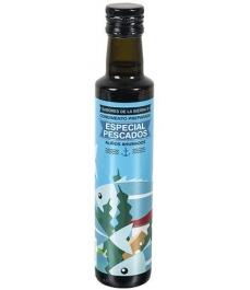Sabores de la Sierra - AHUMADO especial aliño pescados botella cristal 250 ml.