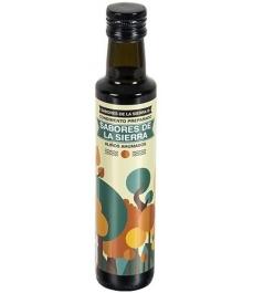 Sabores de la Sierra - AHUMADO Cascaras de frutos secos botella cristal 250 ml.