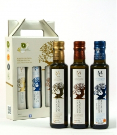 Molino de la Calzada - Box of 3 glass bottles of 250 ml.