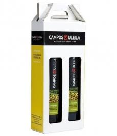 Campos de Uleila Coupage BIO 500 ml. - Estuche 2 botellas