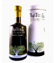 Baeturia Manzanilla Cacereña de 500 ml - Botella vidrio. + lata 500 ml.