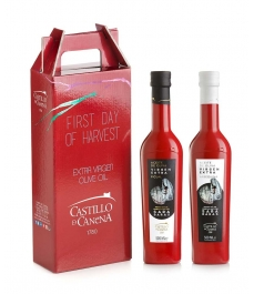 Castillo de Canena First Day of Harvest Sara Baras - Cardbox of 2 bottles