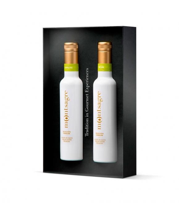 Montsagre Selección Familiar - Estuche mixto 2 botellas 250 ml.