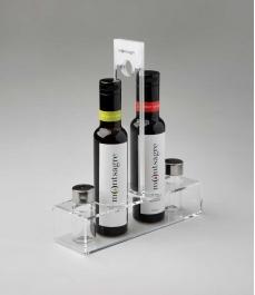 Porte condiments Montsagre Convoy - Coupage + Vinaigre 2 bouteilles 250 ml.