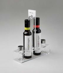 Montsagre Convoy Essig und Olivenöl Gestell - Coupage + Essig 2 flaschen 250 ml.