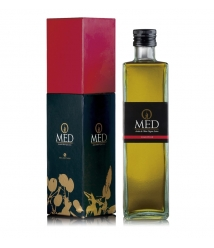 OMED - Picual bouteille verre 500 ml. + coffret