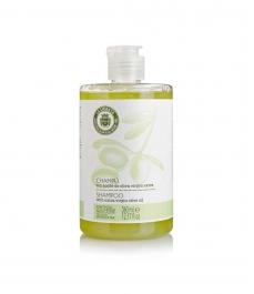 Champú al aceite de oliva de 360 ml. - Botella 360 ml.