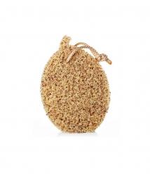 Éponge exfoliante Natural Edition - Avec noyaux d'olives