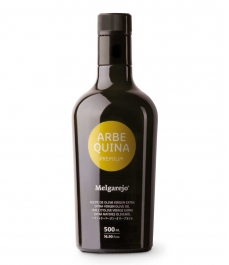 Melgarejo Premium Arbequina - Glass bottle 500 ml.