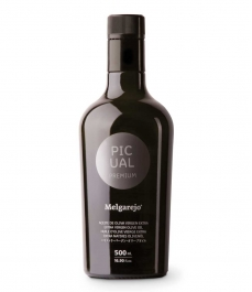 Melgarejo Premium Picual - Glass bottle 500 ml.