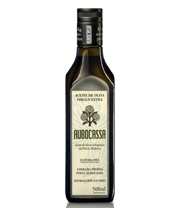 Aubocassa - botella vidrio 500 ml.