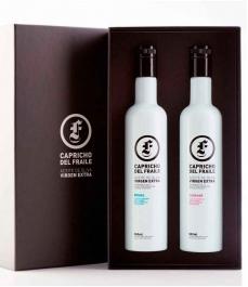 Capricho del Fraile Picual + Coupage - Etui 2 bouteilles verre 500 ml.
