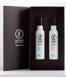Capricho del Fraile Picual + Coupage - Box of 2 glass bottles 250 ml.
