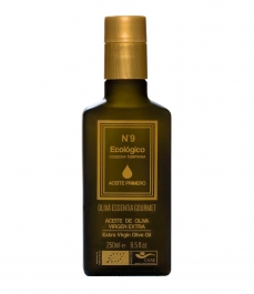 Organic Oliva Essentia Primero Picual Nº9 - Glass bottle 250 ml.
