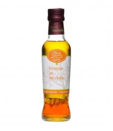 Oliva Essentia Aromatisiert mit Honig und Nüsse - Glasflasche 250 ml.