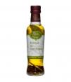 Oliva Essentia Aromatisiert mit Lorbeer und 4 Pfeffer - Glasflasche 250 ml.