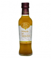 Oliva Essentia Aromatizado con Cominos y Curry - Botella vidrio 250 ml.