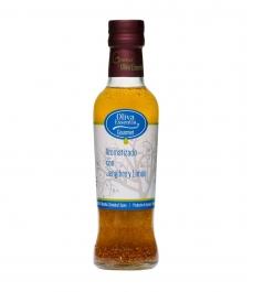 Oliva Essentia Aromatisé au Gingembre et au Citron - Bouteille verre 250 ml.