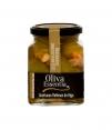 Oliva Essentia Karamellisierte Gordal-Olive mit Feige gefüllt - Glas 300 gr.