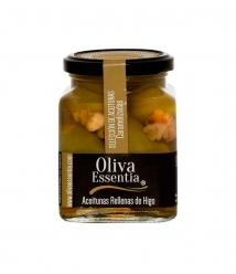 Oliva Essentia Aceituna Gordal caramelizada rellena de Higos - Tarro 300 gr.