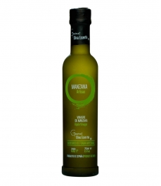 Oliva Essentia Vinagre de Manzana - Botella vidrio 250 ml.