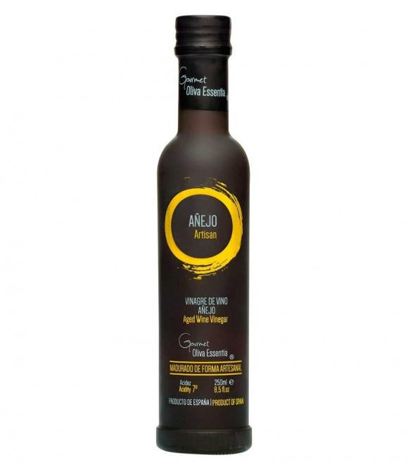 Oliva Essentia Vinagre de Vino Añejo - Botella vidrio 250 ml.