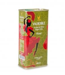 Valroble Picual - Bidon métal 500 ml.