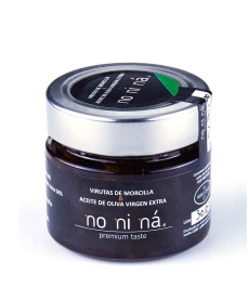 Iberian black pudding with extra virgin olive oil - Glass jar 100 gr.