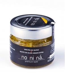 Queso curado con aceite de oliva virgen extra - Tarro vidrio 100 gr.