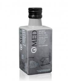 OMED Arbequina Geräuchert 250 ml - Glasflasche 250 ml.