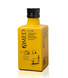OMED Arbequina Yuzu 250ml - Glasflasche 250 ml.