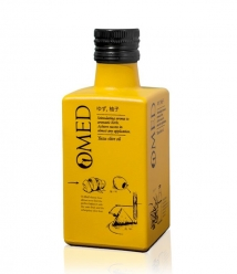 OMED Arbequina Yuzu de 250 ml - Flacon en verre 250 ml.