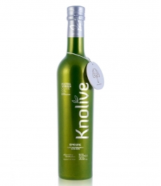 Knolive - Botella vidrio 500 ml.