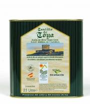 Castillo de Toya  DOP Sierra de Cazorla - Lata 2,5L